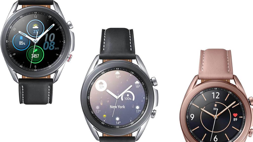 Samsung Galaxy Watch 3 - modely