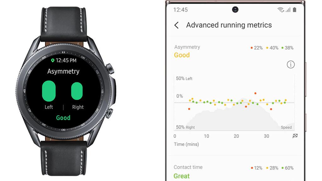 - Samsung Galaxy Watch 3 a športové aplikácie